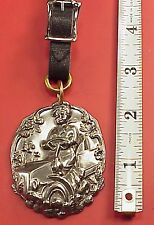Vintage 1910 Model T Woman Driver Auto Car 2in Pocket Watch Fob Or Key Chain