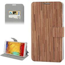 Custodia Cover FLIP Portafogli ECO PELLE marrone per Samsung Galaxy Note 3 N9000
