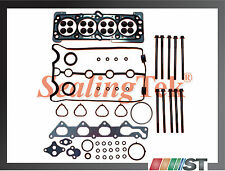06-08 Chevrolet Aveo Cylinder Head Gasket Set w/ Bolts Kit engine motor parts