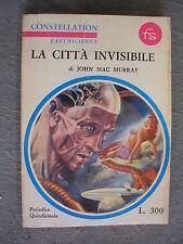 JOHN MAC MURRAY - LA CITTA' INVISIBILE - LONGANESI - OTTIMO - LIB5