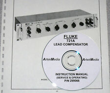 FLUKE 721A Lead Compensator Opeating & Service Manual