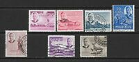 1950 King George VI SG276 to SG287 Collection of 7 stamps Used MAURITIUS