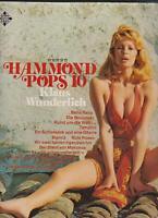 Vinyl-LP - Klaus Wunderlich - Hammond Pops 10 - 621152 AS - 1973 Germany