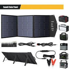 SUAOKI 120W Monocrystalline Solar Panel Generator USB Alternative Energy Supply