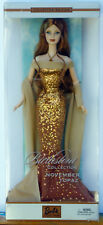 Birthstone Collection Barbie - November Topaz - Collector Edition NRFB