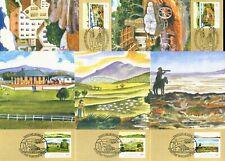 Australia Maximum / Maxi Cards - 1989 Pastoral Era (Complete Set)