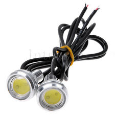 1pair 9W Car Motor LED Eagle Eye Daytime Running Light Tail Backup Light DRL