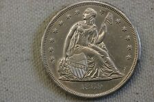 1859-O Seated Liberty Silver Dollar $1 AU-MS