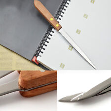 Letter Envelope Opener Wooden Handle Stainless Steel Blade Office Stationery