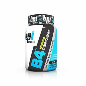 BPI Sports B4 Thermogenic The Once Daily Fat Burner 60 Count
