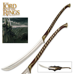 LICENSED UNITED CUTLERY Lord of the Rings High Elven Warrior Sword NEW LOTR