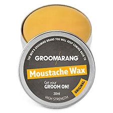 Groomarang Beard Comb Styling Template Accessories Shaping Oil Wax Grooming Kit Moustache Wax 30ml Original