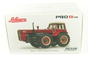Steyr 1300 System Dutra Tractor (Red) 1:43 Schuco