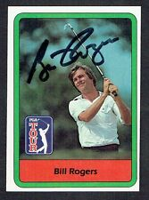 Bill Rogers #5 signed autograph auto 1982 Donruss Golf Trading Card