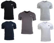 Nike Sportswear Club Embrd Futura Men's T-shirt Grey S