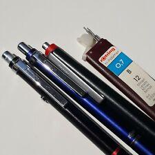 Vintage ROTRING ESPRIT mechanical pencil & Ballpoint pens