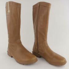 Bogs PEARL Women Brown Waterproof Leather Knee High Tall Boot Size 10.5
