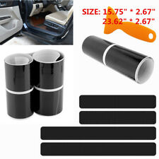 5D Accessories Carbon Fiber Car Door Plate Sill Scuff Cover Anti Scratch Sticker