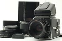 【N.MINT】 Hasselblad 500CM Acute Matte D PM5 Finder CF 80mm F2.8 From JAPAN #1605