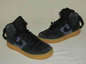 Nike Air Force 1 High '07 LV8 Black Gum Light Brown 806403-003 Size 9 M