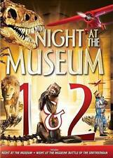 Night At the Musem 1 & 2 (DVD, 2014, 2-Disc Set) - Usually ships in 12 hours!!!