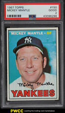1967 Topps Mickey Mantle #150 PSA 2 GD