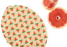 EcoBees Beeswax Eco Friendly Reusable Food Cling Wraps - Variety Pack 3 Sizes