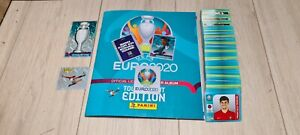 Euro 2020 panini tournament edition blue full set and empty album HOT💥💥