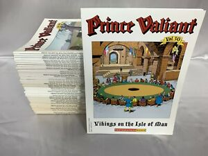 Prince Valiant Fantagraphics Complete Set Vol. 1-50 Hal Foster Comic Books