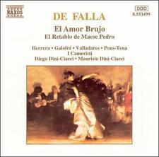 De Falla: El Amor Brujo; El Retable de Maese Pedro, New Music