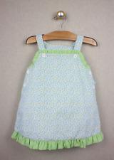 a19bb516c6f2 NEW Remember Nguyen Floral Jumper Dress 18 months Blue Green Spring Easter