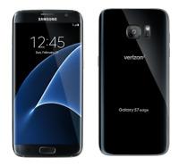 NEW Samsung Galaxy S7 Edge SM-G935V 32GB Verizon Black Unlocked  LTE Smartphone
