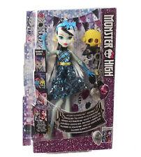 Mattel DNX34 Monster High Puppe Frankie Stein Spielpuppe Willkommen Kinderpuppe