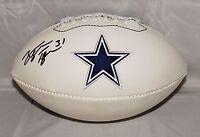 George Teague Autographed Dallas Cowboys Logo Football- JSA W Authenticated