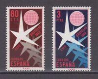 ESPAÑA (1958) NUEVO MNH SPAIN - EDIFIL 1220/21 EXPOSICIÓN BRUSELAS 1958
