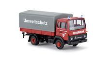 "Magirus MK PP ""Feuerwehr Ratingen"", H0 Auto Modell 1:87, Brekina 34720"