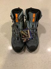 Salomon Womens Quest 4D 3 Gtx Teal Hiking Boots Size 10 (527608)
