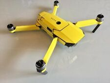 Gloss Primrose Yellow DJI Mavic Pro waterproof vinyl skin / wrap. PVC decal. UK