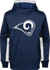 Los Angeles Rams Youth Medium Status Long Sleeve  Pullover Hoodie. Sewn