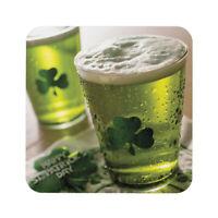 Saint patrick beer 1 - Sous-verre sous bock imprimé haute définition Coaster HD