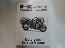 2010 KAWASAKI 1400GTR ABS CONCOURS 14 ABS 14 Service Shop Repair Manual NEW