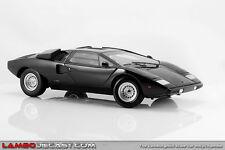 1:18 Kyosho Lamborghini Countach LP400 Negro - RAREZA