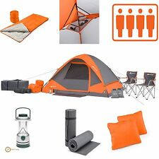 Camping Tents 4 People Equipment Luxury Big For Best Tent Cheap Large Combo Set