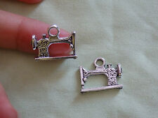 15 sewing machine charms pendant beads Tibetan tibet silver antique wholesale