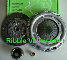 LAND ROVER DISCOVERY 1 200/300tdi VALEO CLUTCH KIT 4 PIECE HEAVY DUTY LR009366HD