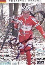 CYCLISME repro PHOTO cycliste THORSTEN STRUCH équipe  signée