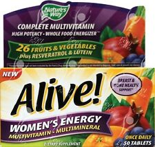 Womans Alive Energy Multi Vitamin x50tabs - 1/Day