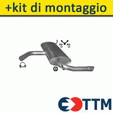 SEAT ALTEA LEON 1.2 1.4 1.6 102/105/86HP 2004- Silenziatore Marmitta Posteriore+