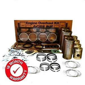 ENGINE OVERHAUL KIT FOR NUFFIELD 344 4DM TRACTORS WITH LEYLAND BMC 3.4 ENGINE