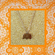 """CC20060 - Eye catching """"rose gold"""" pendant with little elephant stainless steel"""